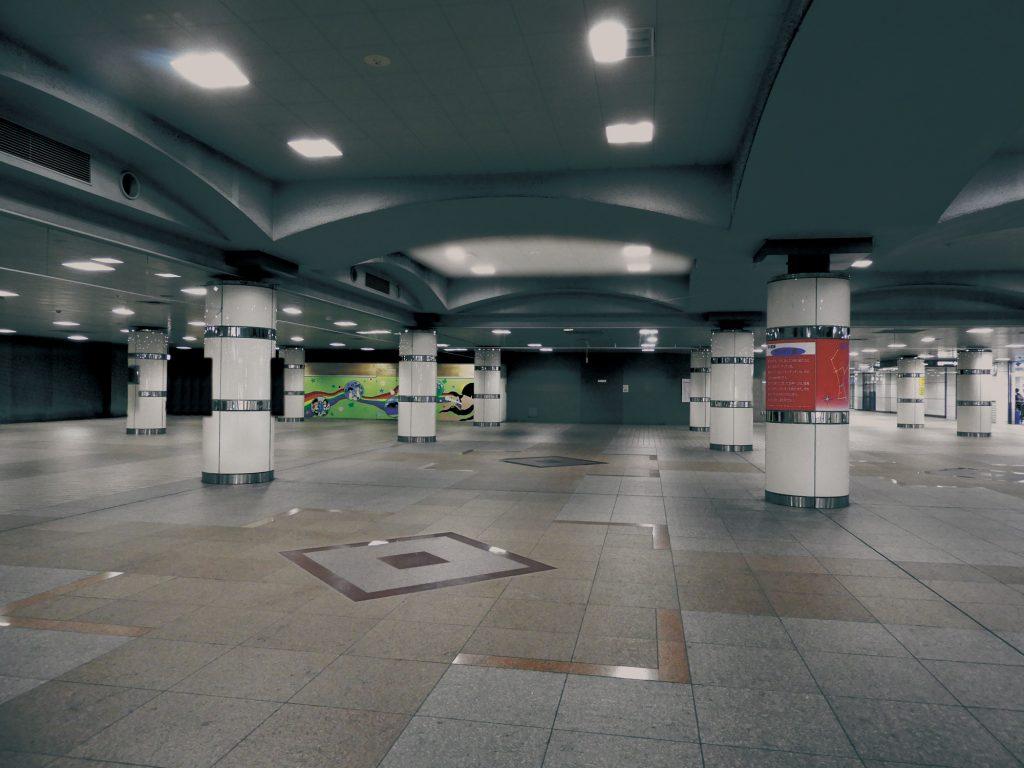現在の湘南台駅地下広場